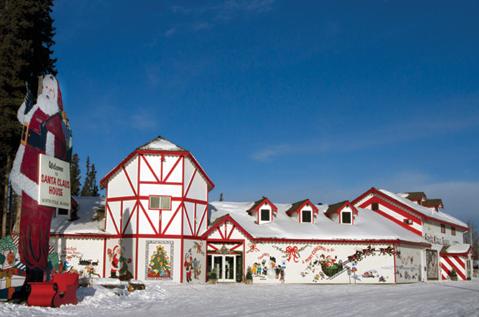 Winter, Snow, Sky, Santa claus, House, Architecture, Christmas, Tourism, Building, Home,