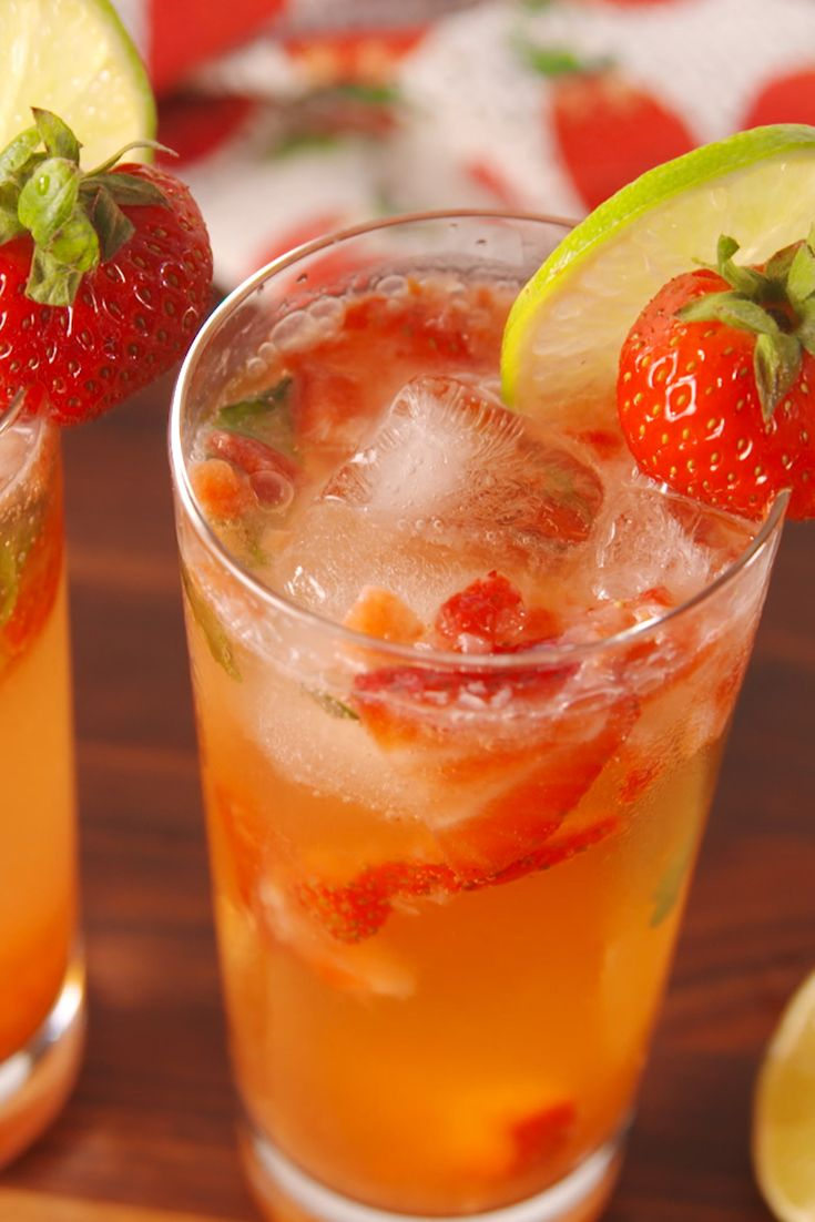 Best Skinny Strawberry Mojito Recipe How To Make Mojitos