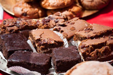 Brownies at a bake sale