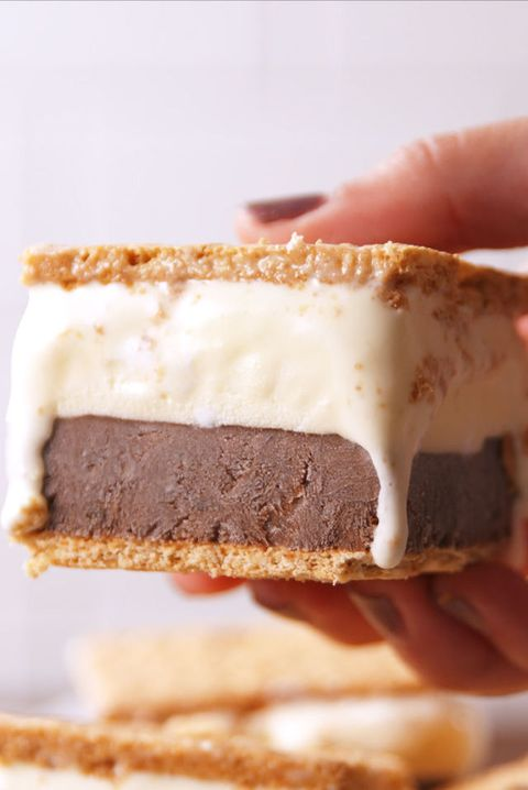 Best Frozen S Mores Recipe How To Make Frozen S Mores