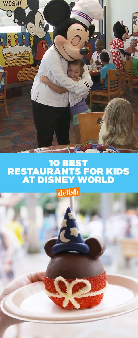 15 Best Restaurants To Take Kids At Disney World Best Kid