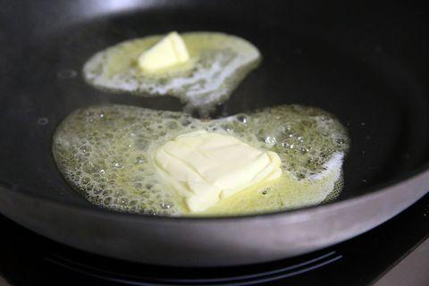 Food, Dish, Cuisine, Ingredient, Pan frying, Recipe, Cooking, Frying, Breakfast, Produce,