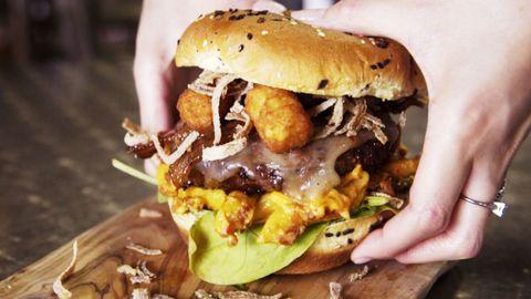 Cherry Jack Daniels BBQ Burger