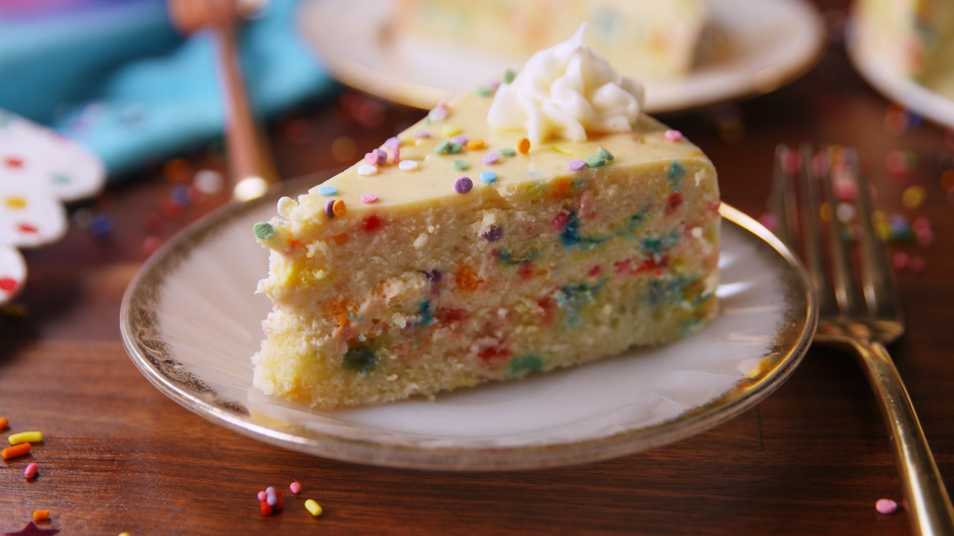 Image result for Funfetti Cheesecake