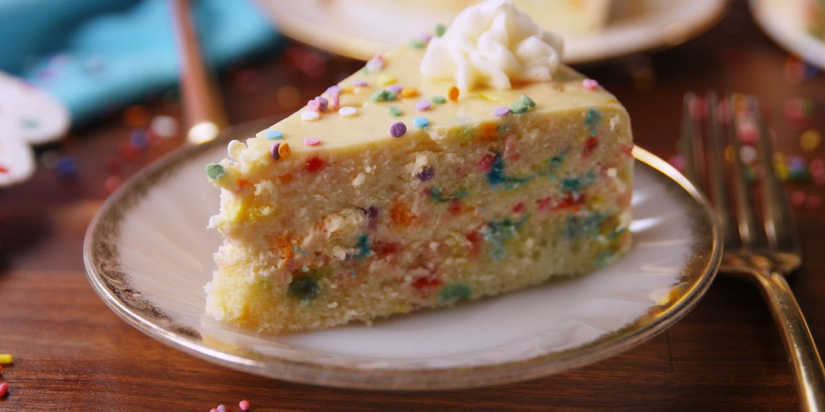 Best Funfetti Cheesecake Recipe How To Make Funfetti Cheesecake