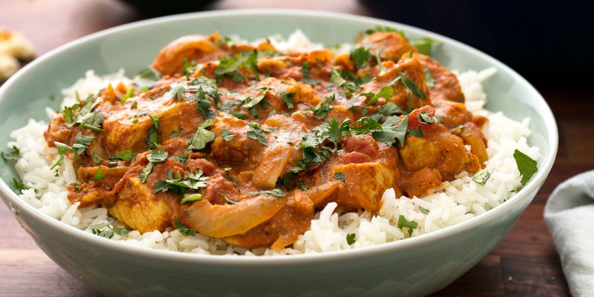 Easy Butter Chicken Recipe - How To Make Indian Butter Chicken-7466