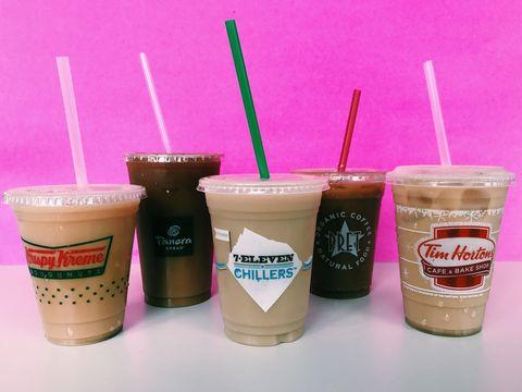 iced coffee taste test