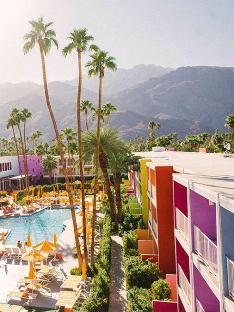 Tree, Resort, Town, Swimming pool, Tourism, Arecales, Mountain, Residential area, Resort town, Seaside resort,