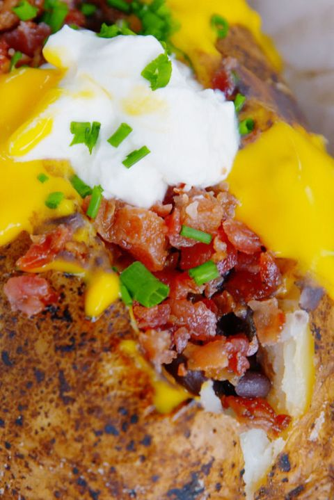 Loaded Baked Potato Vertical