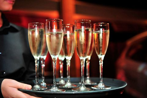 Champagne stemware, Drink, Stemware, Wine glass, Drinkware, Alcoholic beverage, Alcohol, Champagne cocktail, Champagne, Wine,