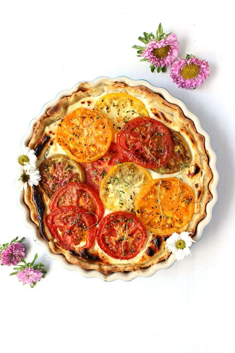 Food, Red, Dish, Ingredient, Recipe, Cuisine, Sun-dried tomato, Serveware, Fast food, Baked goods,