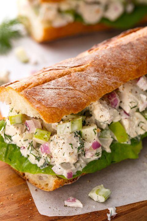 Uitgelezene 40+ Easy Chicken Sandwich Recipes - Best Chicken Sandwiches—Delish.com DX-83