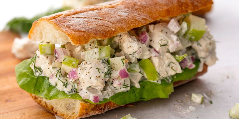 Best chicken salad sandwich recipe how to make a homemade chicken chicken salad sandwich forumfinder Image collections