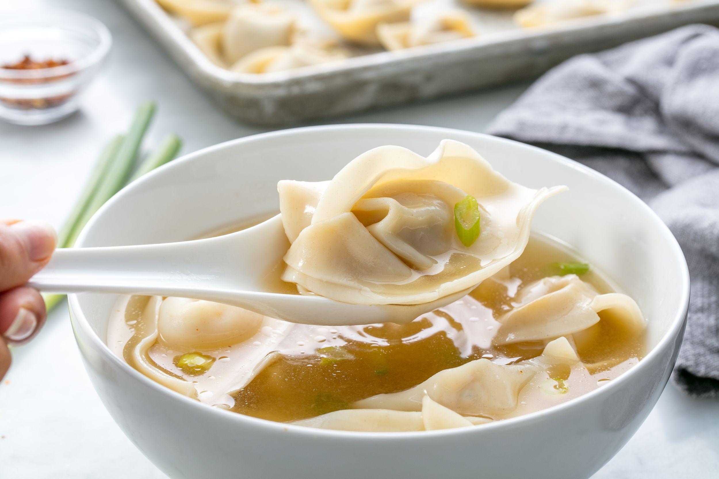 Easy Wonton Soup Recipe - How to Make Wonton Soup