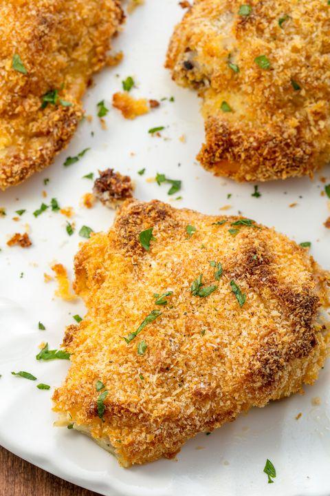 Oven Fried Chicken Vertical