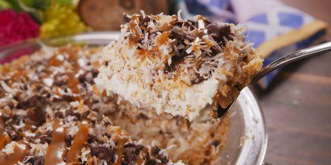 Frozen Samoa Pie Horizontal