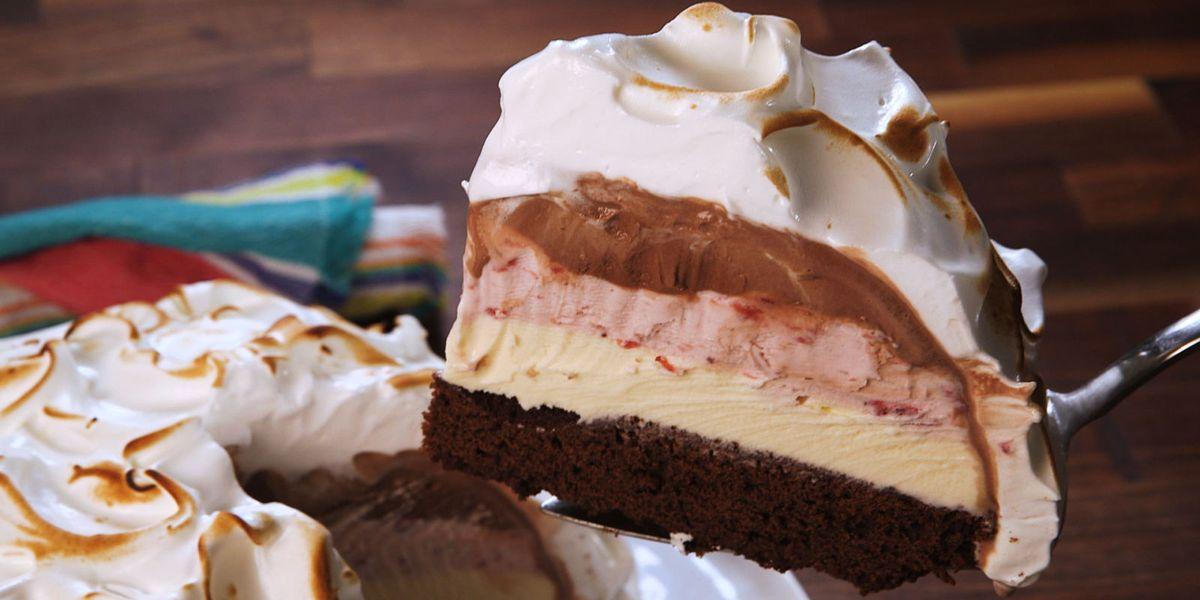Best Baked Alaska Recipe How To Make Baked Alaska