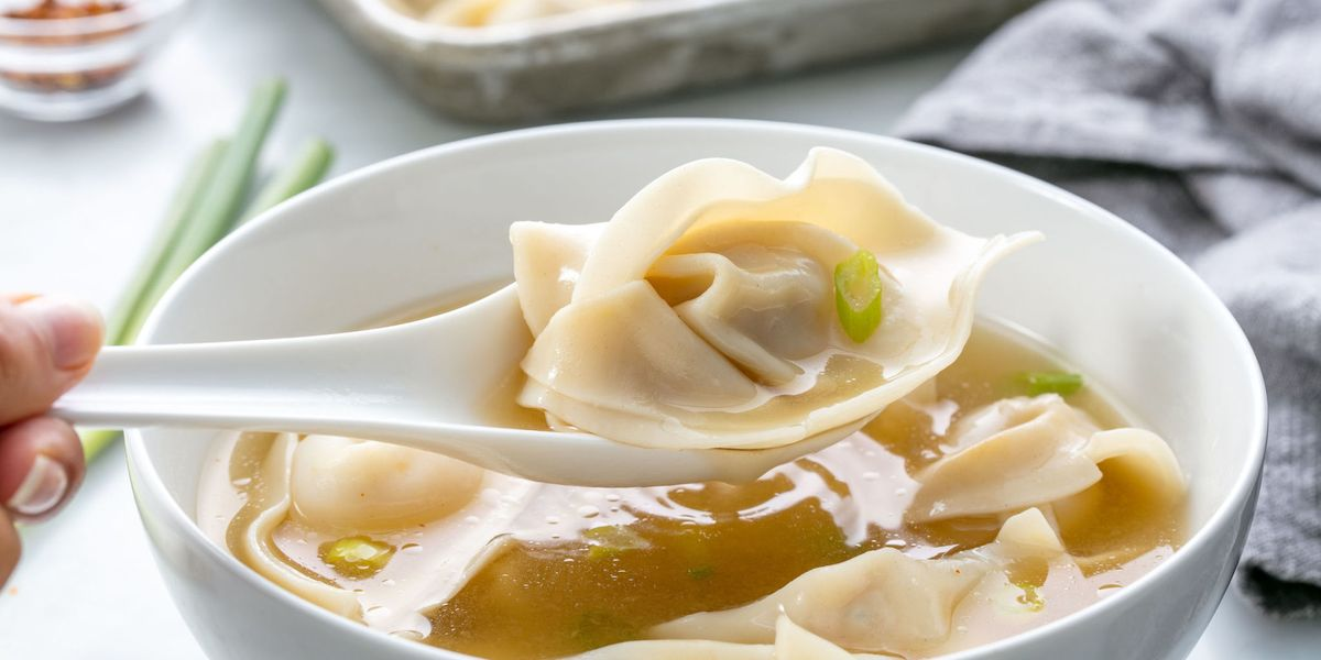 Easy wonton soup recipe how to make wonton soup forumfinder