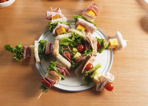 Lunch Kebabs | Beanstalk Mums