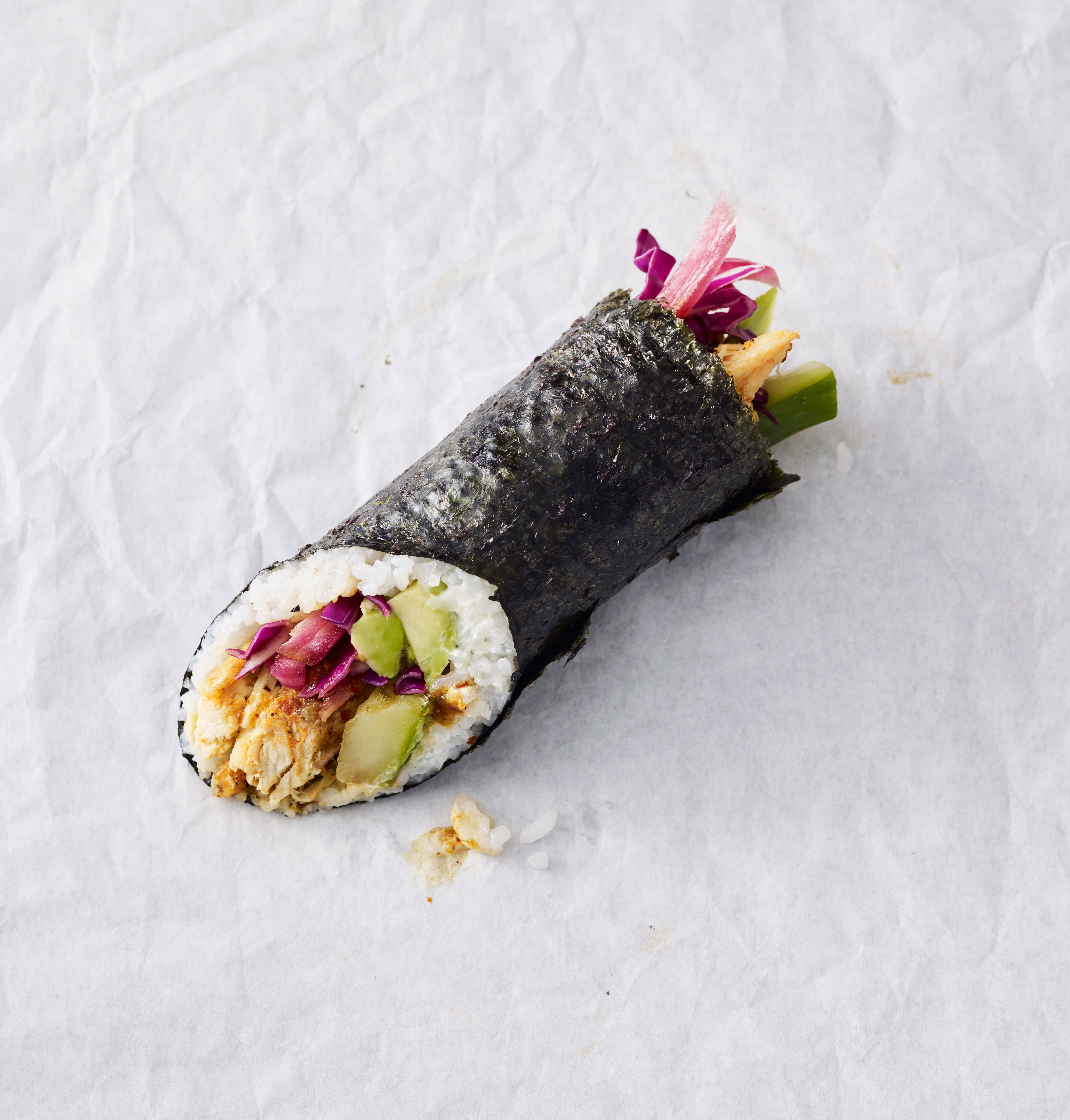 Starbucks Selling Sushi Burritos in Chicago - Starbucks Chicken Maki ...
