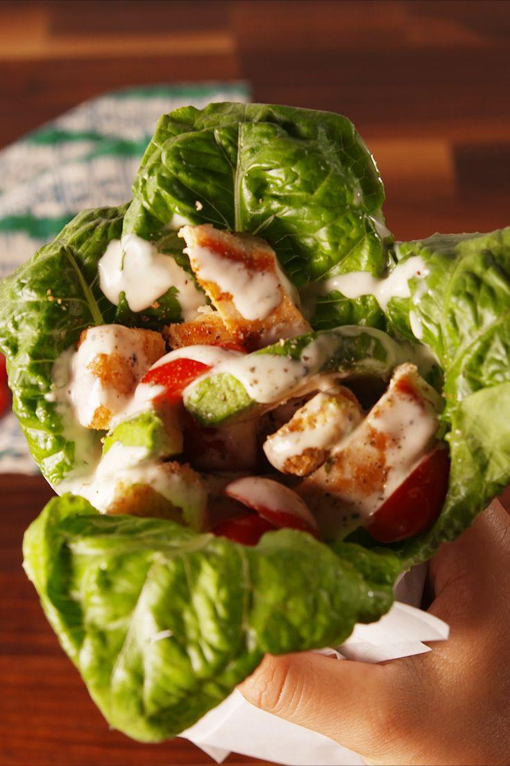 Caesar Salad Recipe Delish