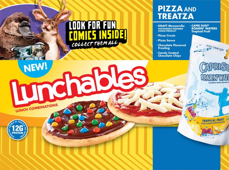 Remain calm treatza pizza lunchables are back ccuart Image collections
