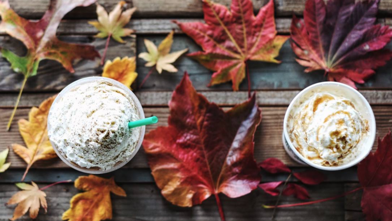 certain starbucks stores started selling the pumpkin spice latte