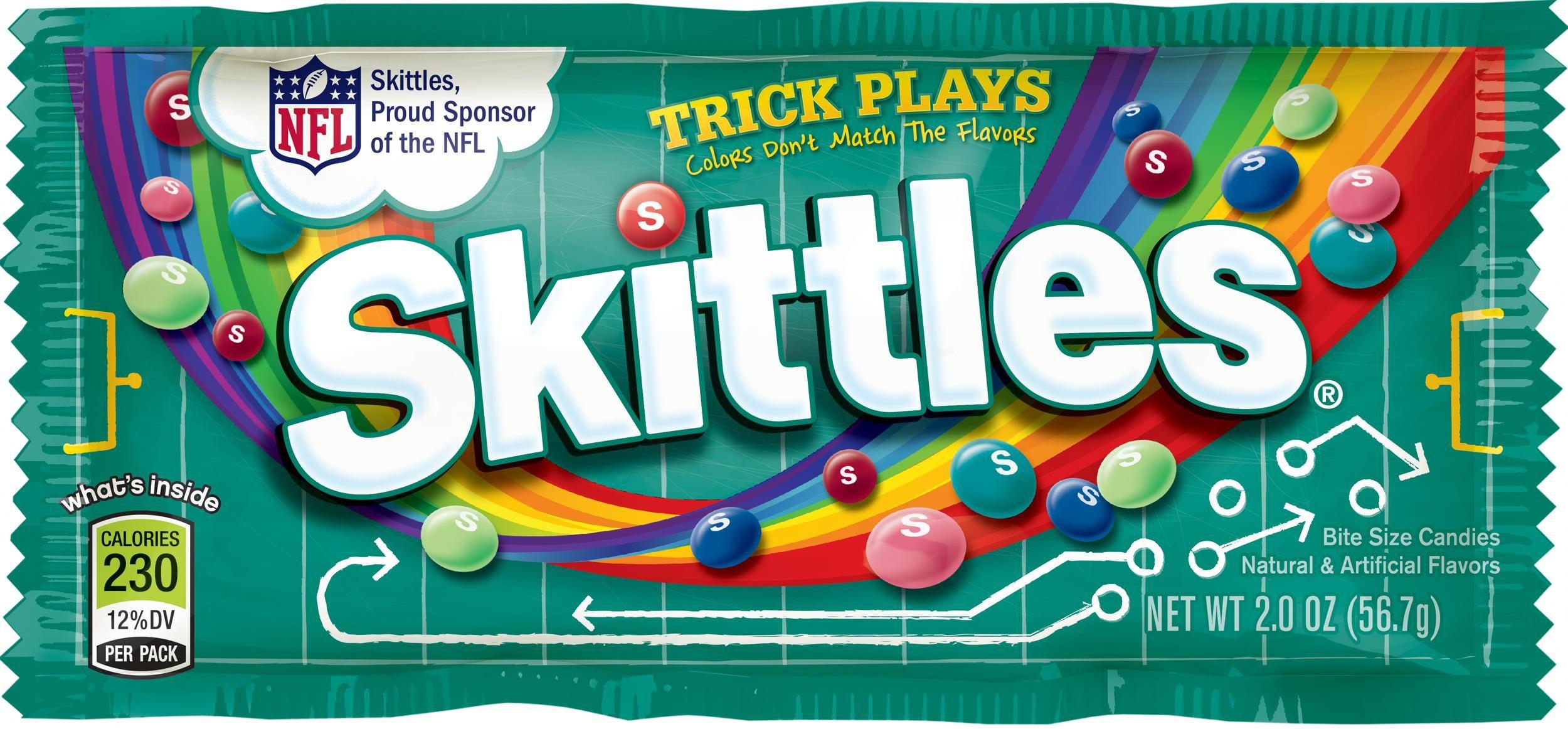 Skittles Launches New Flavors for Football Season - Skittles ...