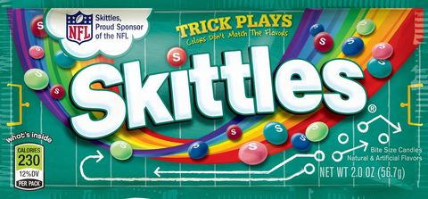 Skittles Trick Plays Nfl