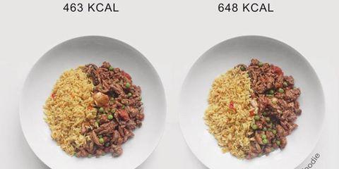 Food, Cuisine, Dish, Thai fried rice, Ingredient, Puliyogare, Rice, Biryani, Brown rice, Fried rice,
