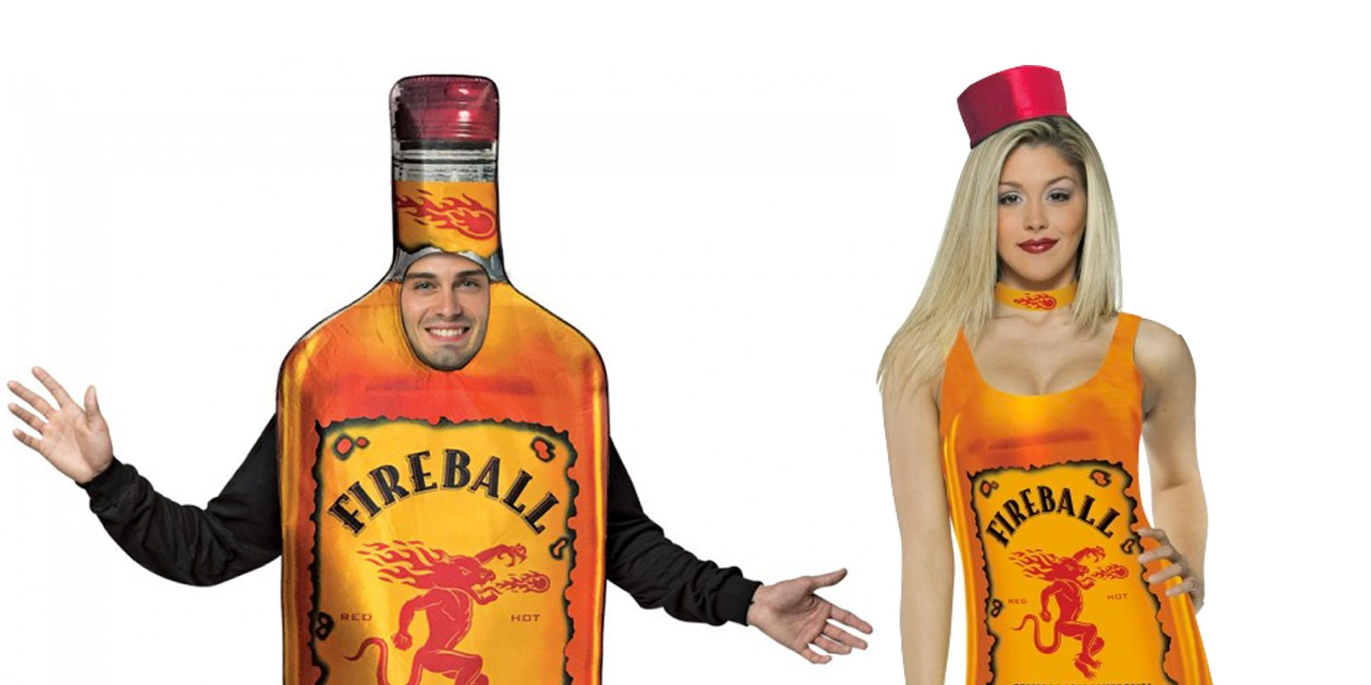 You Can Be A Sexy Fireball Bottle For Halloween This Year - Fireball Halloween Costume - Delish.com  sc 1 st  Delish.com & You Can Be A Sexy Fireball Bottle For Halloween This Year - Fireball ...