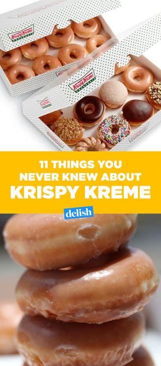 Enjoyable 11 Things You Didnt Know About Krispy Kreme Delish Com Wiring Cloud Peadfoxcilixyz