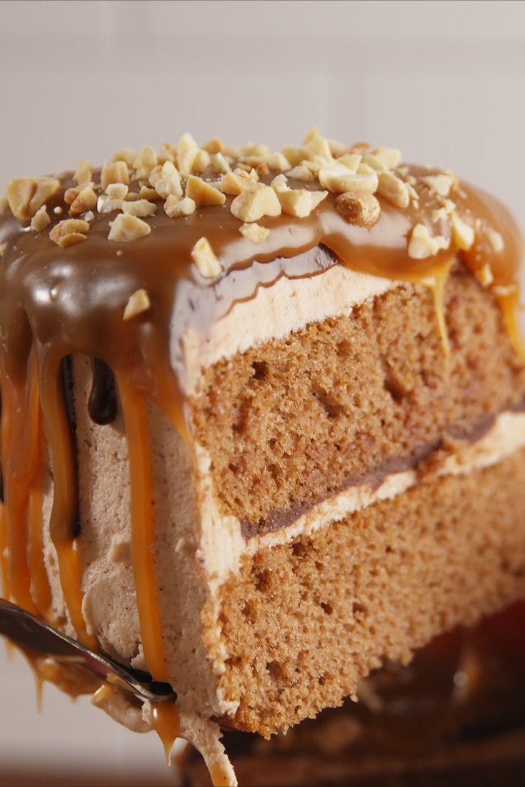 Fresh Apple Bundt Cake With Caramel Icing