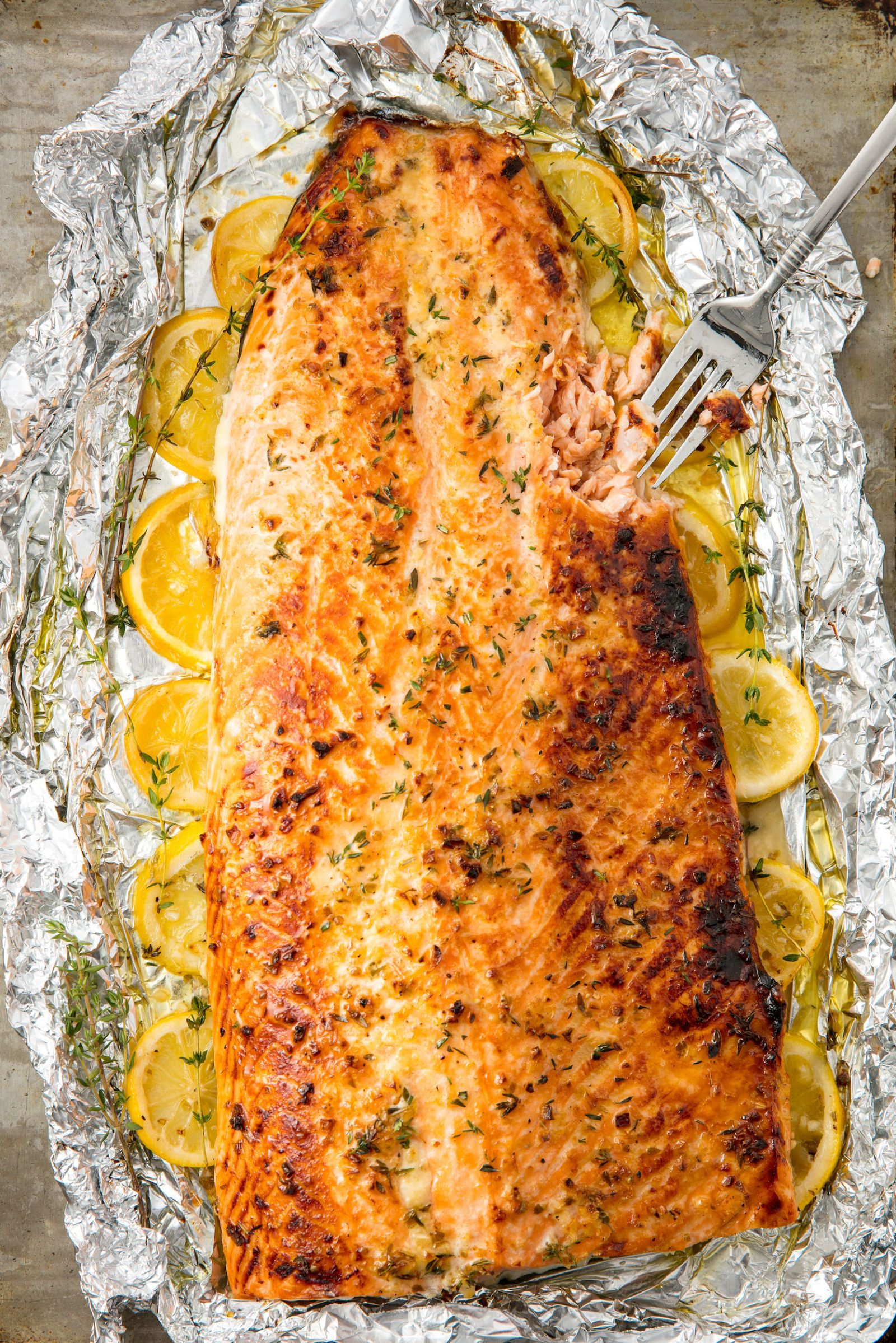 Baked Salmon Fillet In Oven With