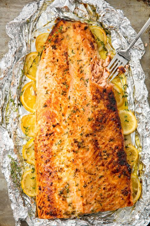 easy baked salmon fillet recipe how to bake salmon. Black Bedroom Furniture Sets. Home Design Ideas