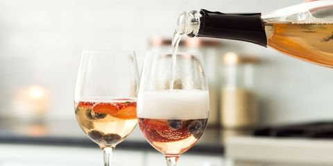 Drink, Wine glass, Alcoholic beverage, Stemware, Champagne stemware, Alcohol, Wine, Champagne cocktail, Wine cocktail, Cocktail,