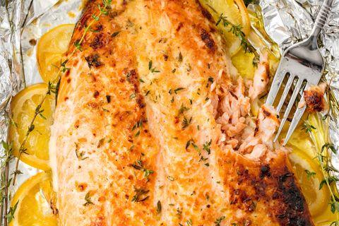 Baked Salmon Horizontal