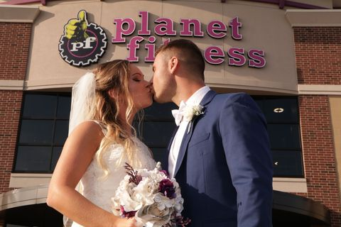 Photograph, Bride, Ceremony, Wedding, Interaction, Event, Bridal clothing, Wedding dress, Formal wear, Dress,