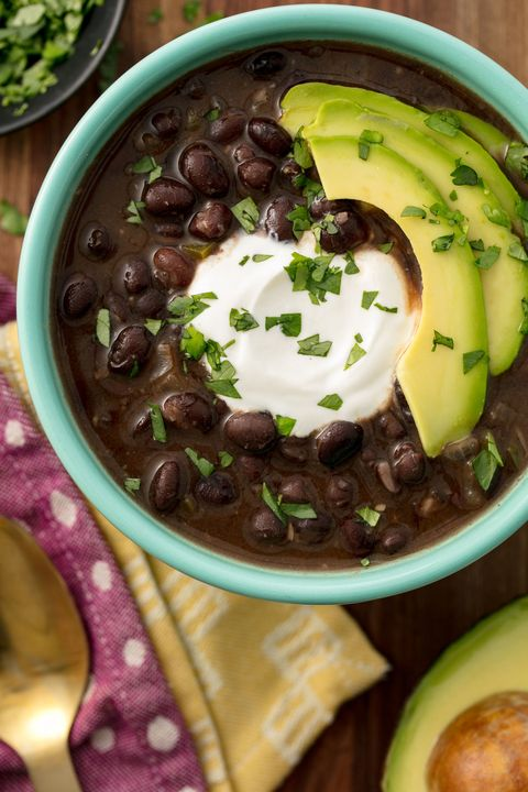 Black Bean Soup Vertical