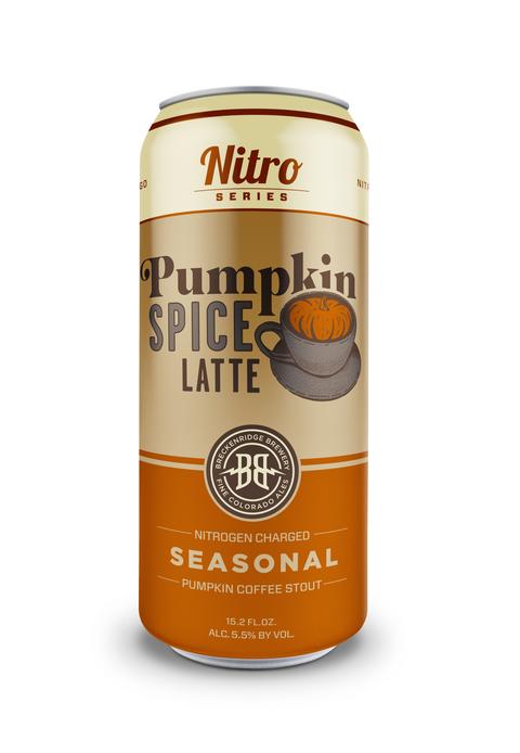 Breckenridge Brewery Nitro Pumpkin Spice Latte Stout