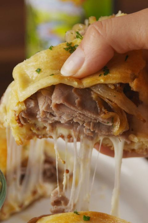 French Dip Crescent Vertical