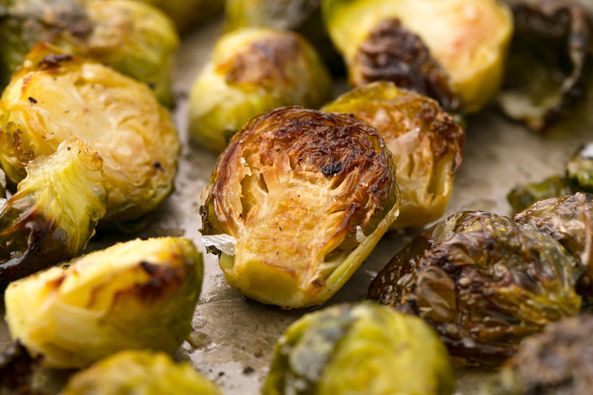 How long should you roast brussel sprouts in the oven