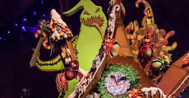 Nightmare Before Christmas Houses.Disney S Nightmare Before Christmas Gingerbread House