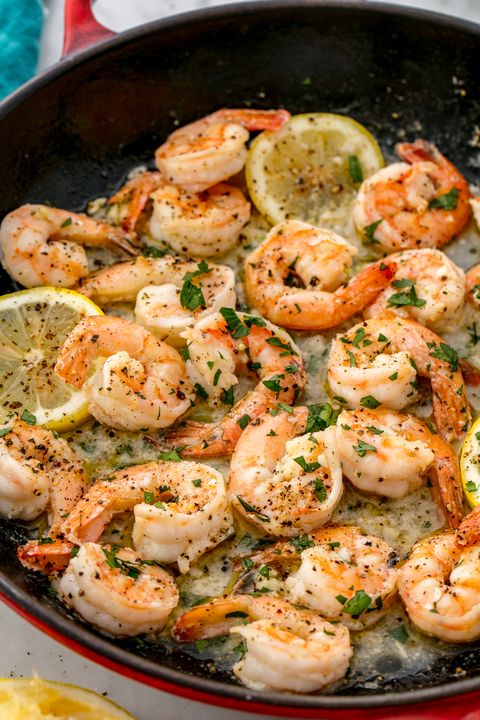 lemon garlic shrimp vertical