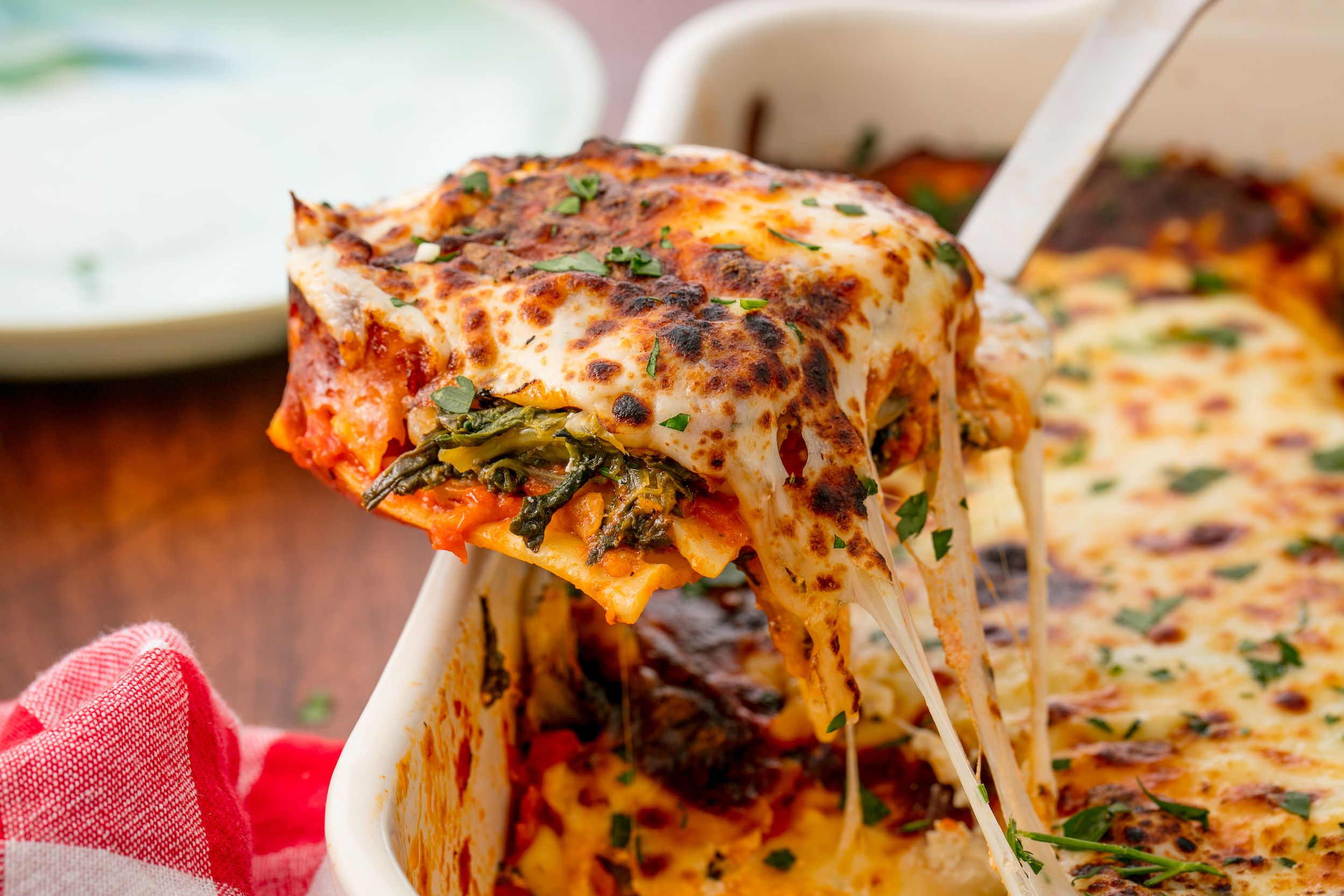 Valerie Bertinellis Spinach and Cheese Lasagna