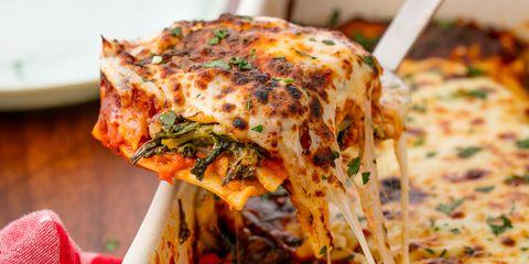Spinach Lasagna Horizontal