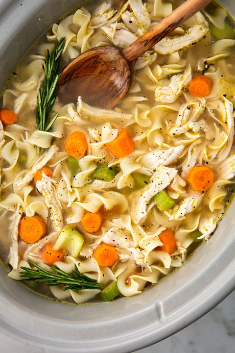 Crock-Pot Chicken Noodle Soup