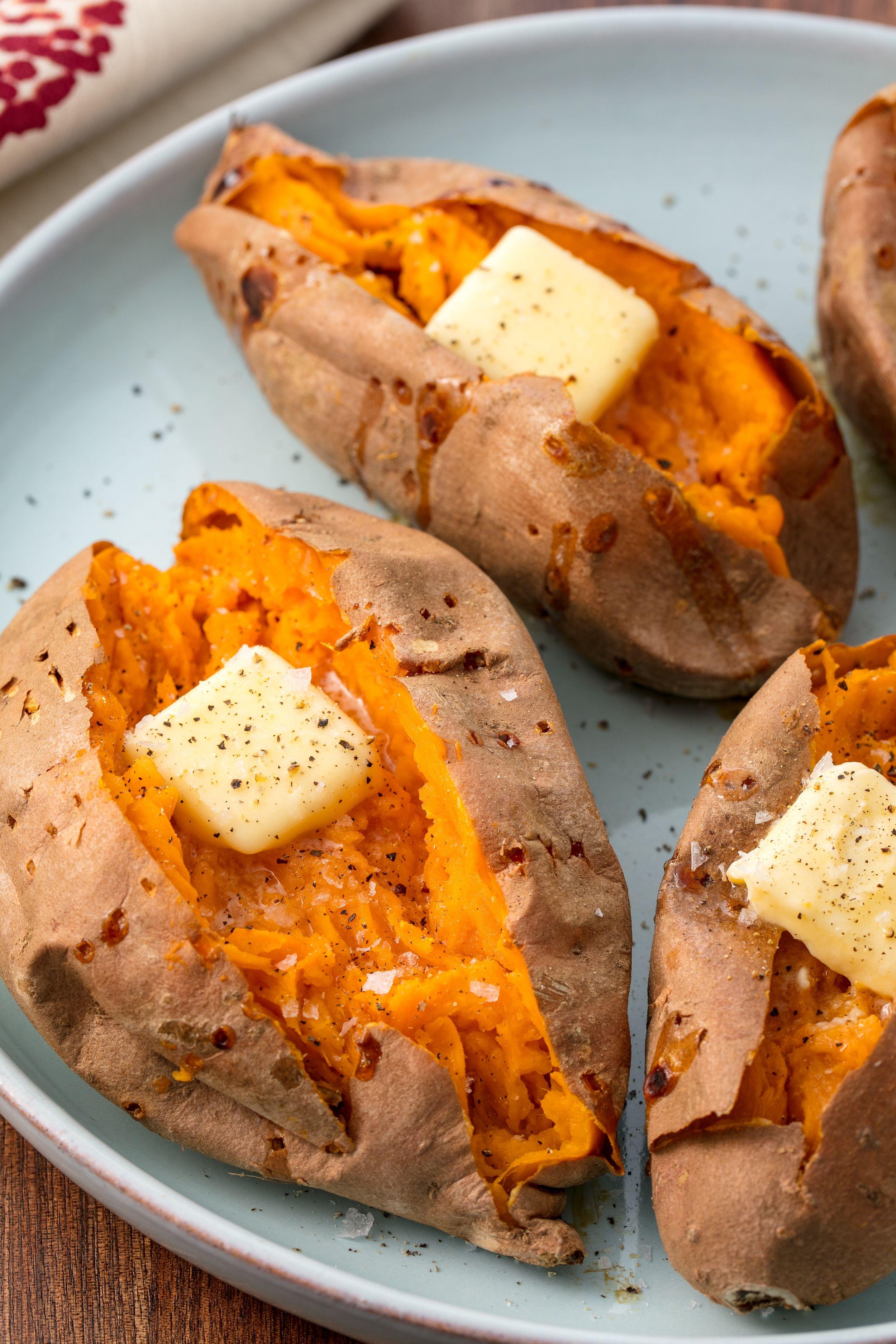 Ways to eat sweet potatoes