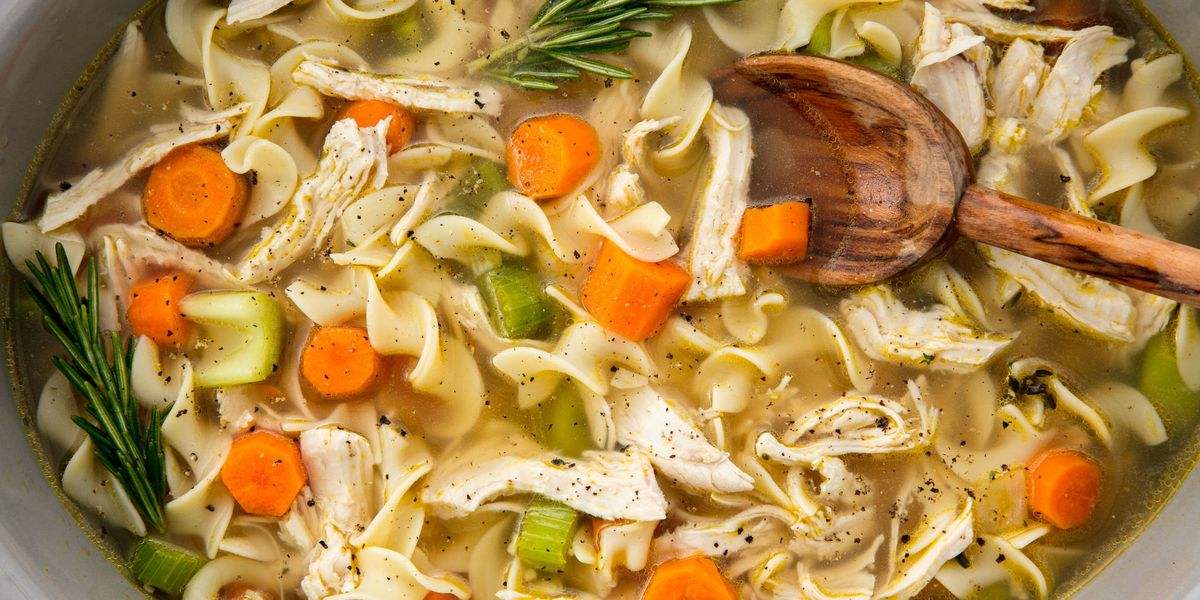Easy Crockpot Chicken Noodle Soup Recipe How To Make Slow Cooker Chicken Noodle Soup