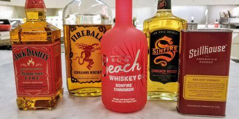 Cinnamon Whiskeys